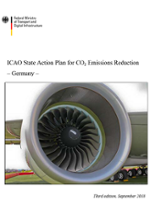 Cover ICAO State Action Plan for CO2 Emissions Reduction - Germany