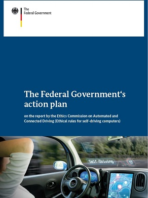 "Cover of ""Action plan automated and connected driving"""