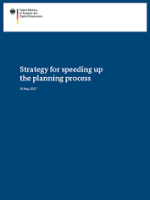 Cover: Speeding up the planning process