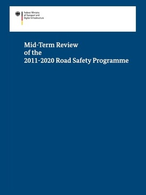 Cover Mid-Term Review of the 2011-2020 Road Safety Programme