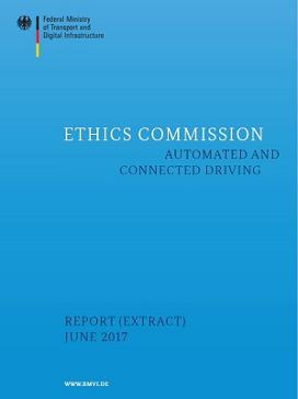 Cover: Ethics Commission - automated and connected driving