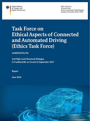 Cover: Task Force on Ethical Aspects of Connected and Automated Driving