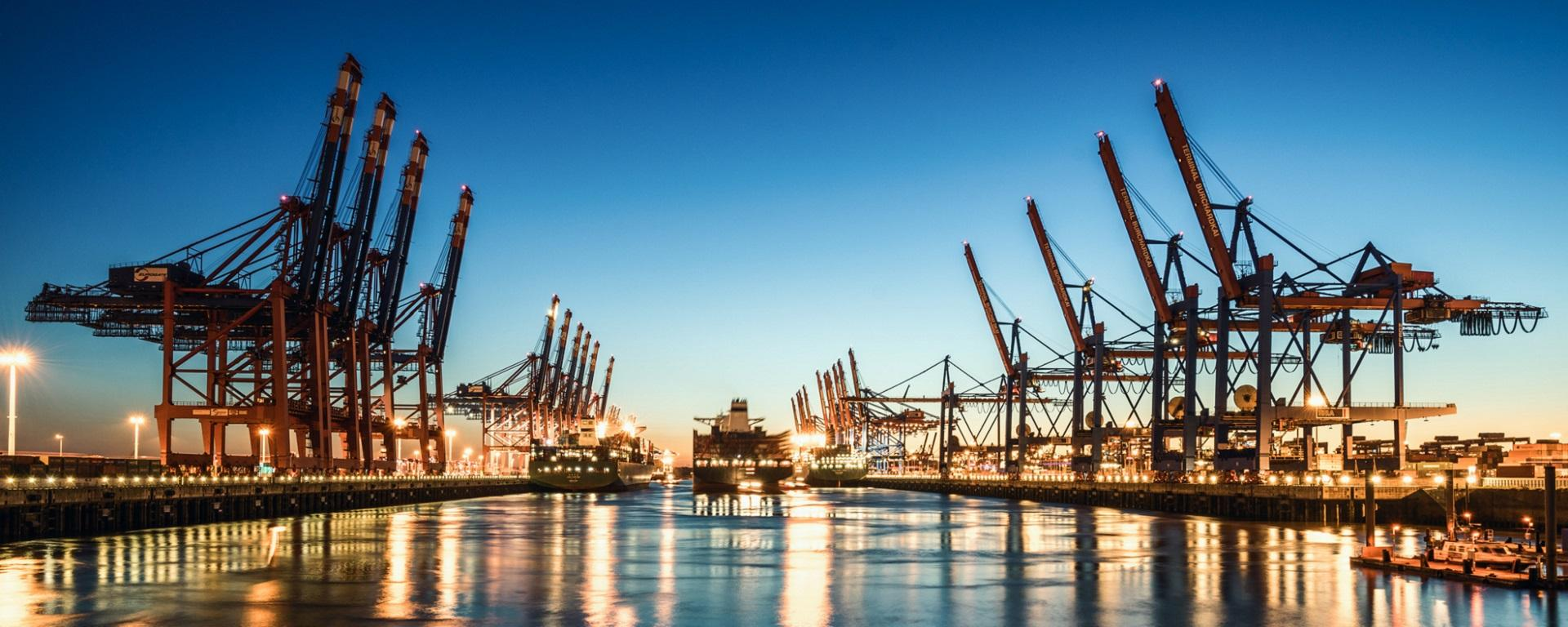 Hamburg's container port is the third largest container port in Europe. Source: Fotolia / davis